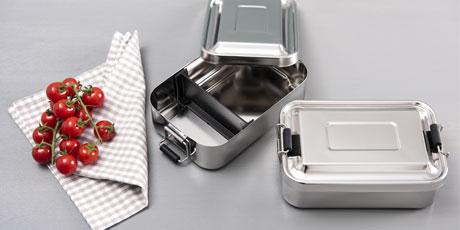 Sliderbild-Lunchbox