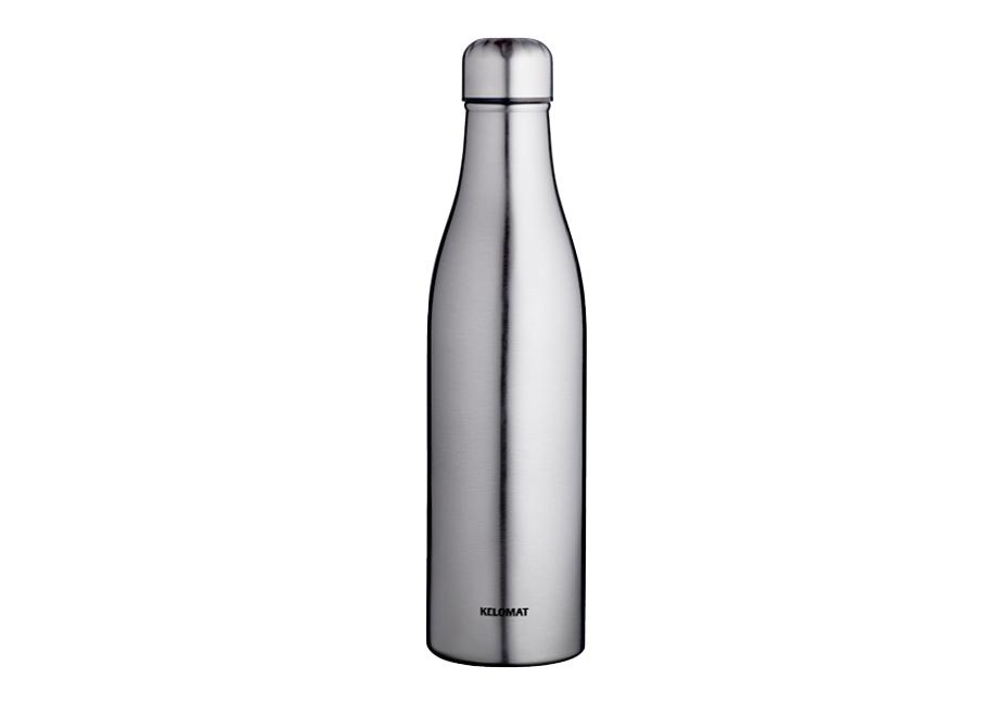 Isolierflasche von KELOMAT in Edelstahl